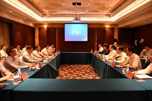 市中区政府、中国铁塔山东省分公司、山东三箭集团举行项目合作签约仪式