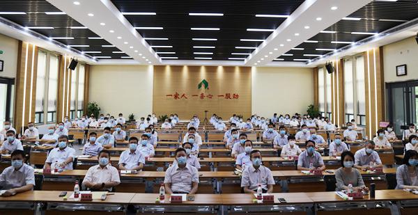 山东三箭集团党委举办庆祝建党99周年专题党课